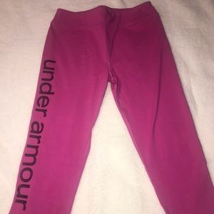 Girls Youth Under Armour Yoga Pants